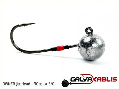 OWNER Jig Head 30 g 3 0