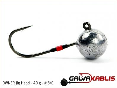 OWNER Jig Head 40 g 3 0
