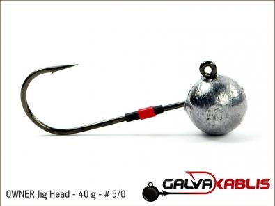 OWNER Jig Head 40 g 5 0