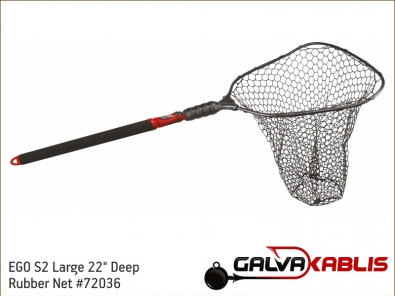 EGO S2 Large 22 Deep Rubber Net