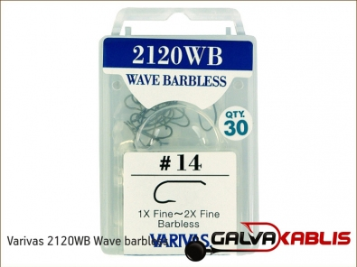 Varivas 2120WB Wave barbless