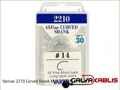 Varivas 2210 Curved Shank X4
