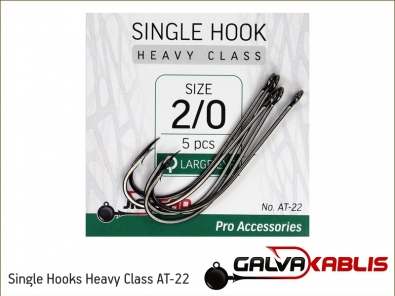Single Hooks Heavy Class AT-22 2 0