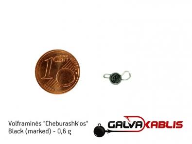 Tungsten Cheburashka Black 0.6g