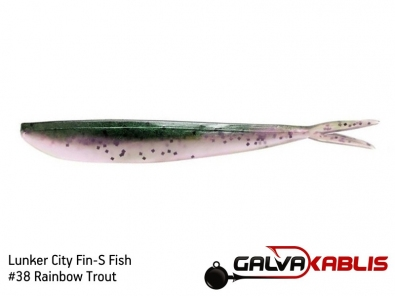 Lunker City Fin-S Fish 38 Rainbow Trout