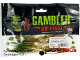 Gambler Flappn Shad 6 Candy Apple F6211 pack