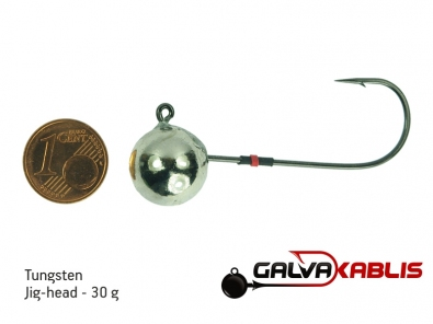 Tungsten JigHead 30g
