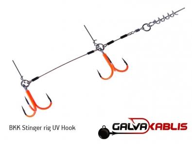 BKK Stinger rig UV Hook